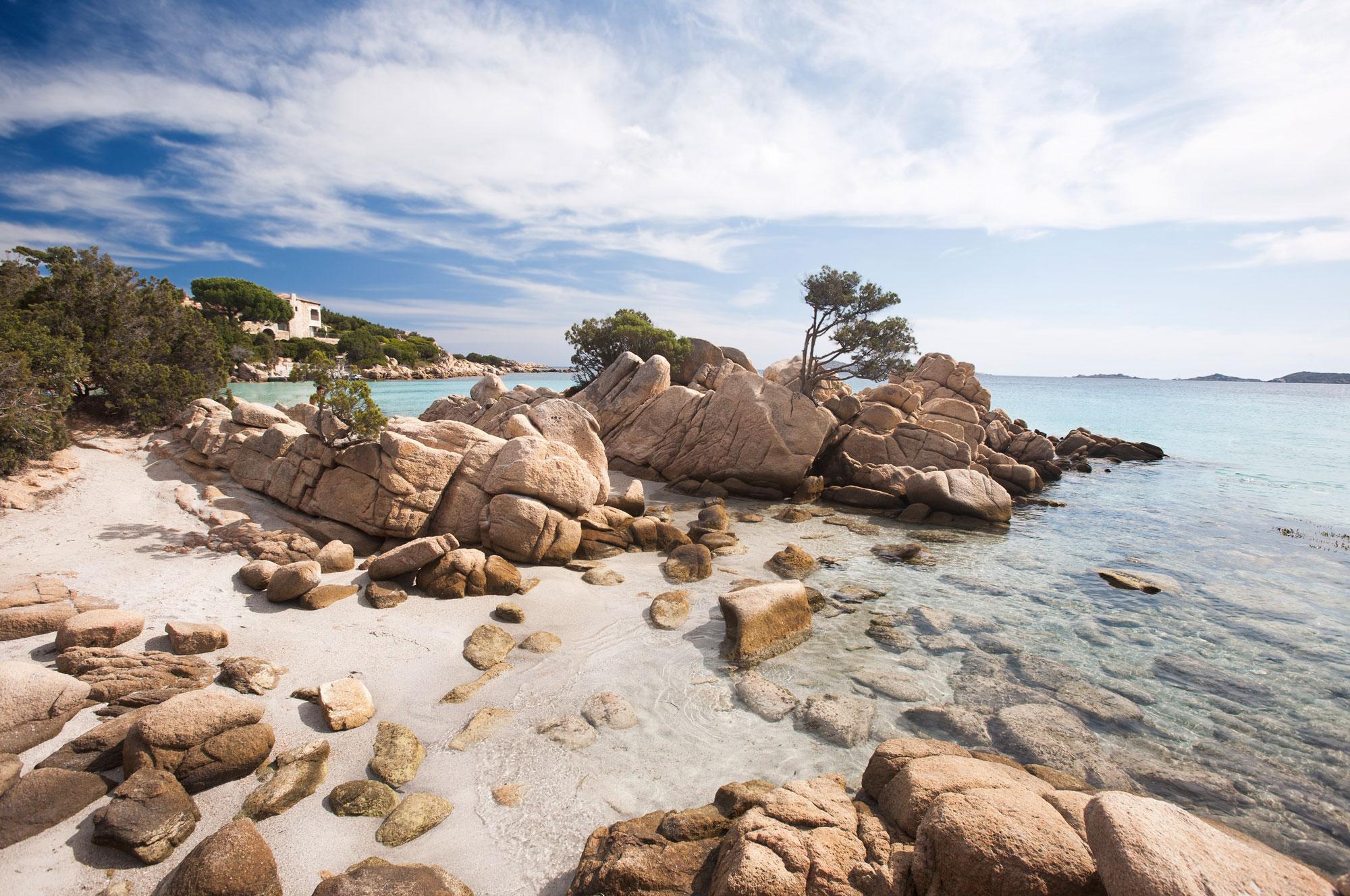 Cala Capriccioli, Costa Smeralda, Sardaigne